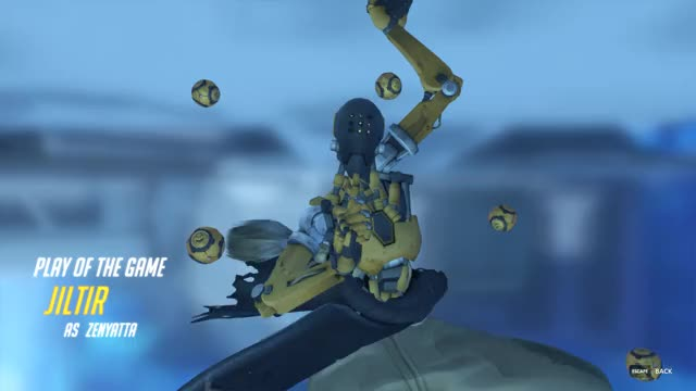 Watch and share Overwatch GIFs and Zenyatta GIFs by Jiltir on Gfycat