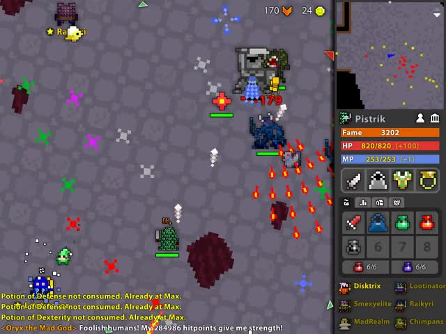 Watch ROTMG: Near Death Experience GIF by Pistrik (@ykssarv) on Gfycat. Discover more related GIFs on Gfycat