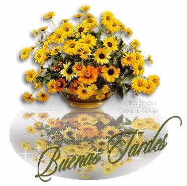 Watch and share Imágenes Con Frases Para Dar Las Buenas Tardes, Feliz Tarde, Linda Tarde GIFs on Gfycat