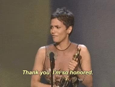 Watch and share Halle Berry GIFs and Oscars GIFs on Gfycat