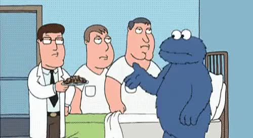 Watch and share Mental Asylum Cookie Monster GIFs on Gfycat