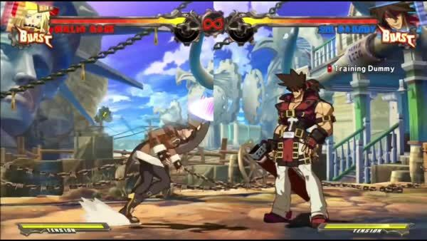 Learning GuiltyGear Xrd Ft. Millia Rage (reddit) GIFs