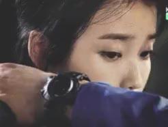 Watch a Cold, Cold Heart a GIF on Gfycat. Discover more IU, baek seung chan, cindy, ep 4, gif, kdrama, kim soo hyun, movie, producers, raining, romantic scenes GIFs on Gfycat