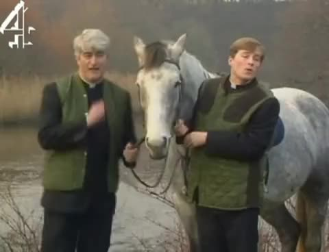 Watch and share Father Ted   My Lovely Horse GIFs on Gfycat