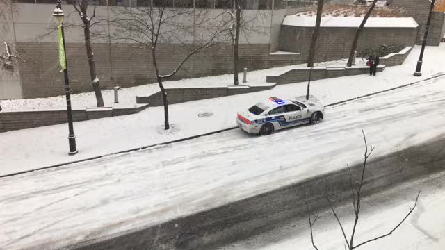 Watch Montreal's first real snowfall causes its usual issues. GIF on Gfycat. Discover more montreal, slide, slip GIFs on Gfycat