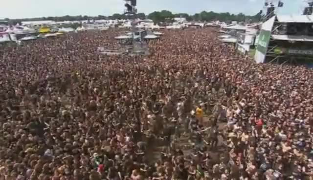 Watch and share EXODUS - Extreme Wall Of Death @ Wacken Metal Festival 2010 !! GIFs on Gfycat