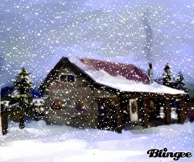 Watch and share Snowy Cabin GIFs on Gfycat