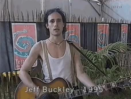 Watch and share Mystery White Boy GIFs and Jeff Buckley GIFs on Gfycat