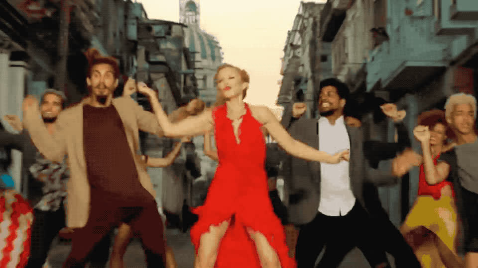 celebrate, crazy, dance, dancing, de, excited, falling, from, gente, kylie, me, minogue, party, stop, woohoo, zona, Kylie Minogue - Stop me from falling ft Gente de zona GIFs