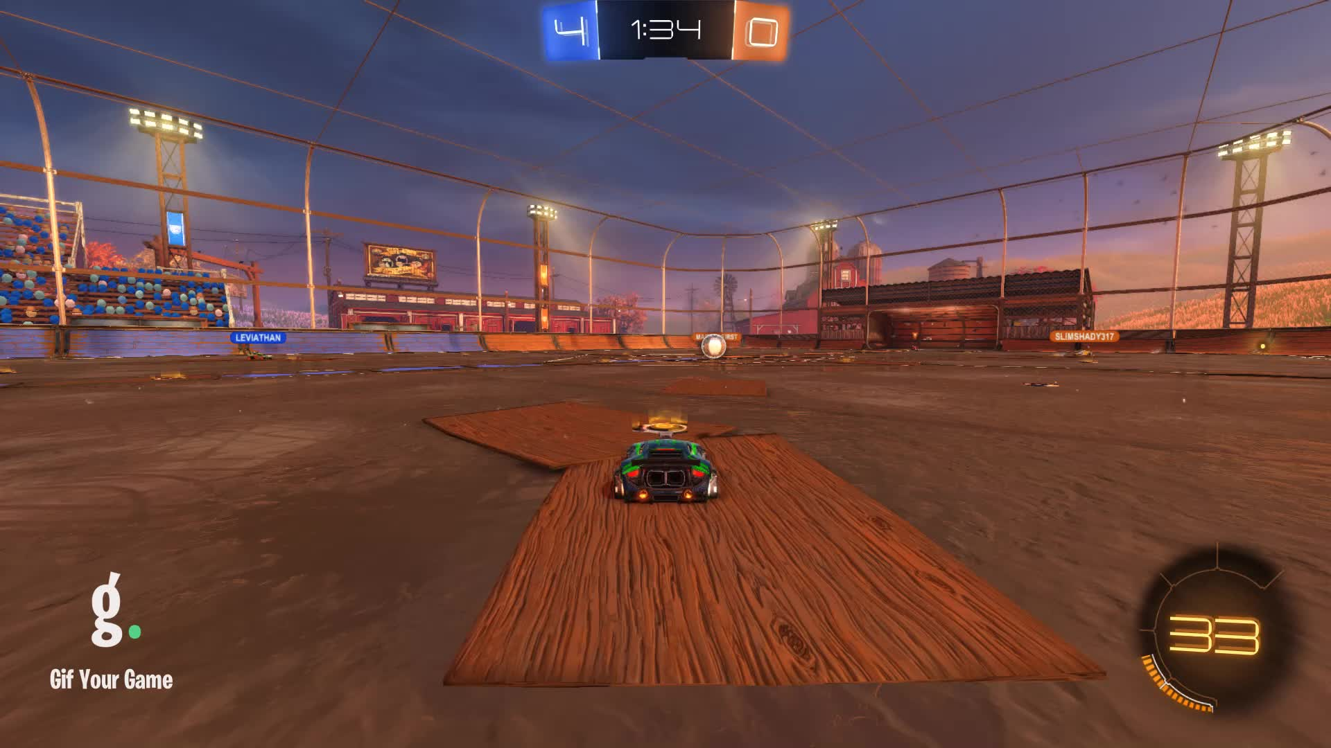 Assist, Duck Dodgers, Gif Your Game, GifYourGame, Rocket League, RocketLeague, Assist 4: Duck Dodgers GIFs