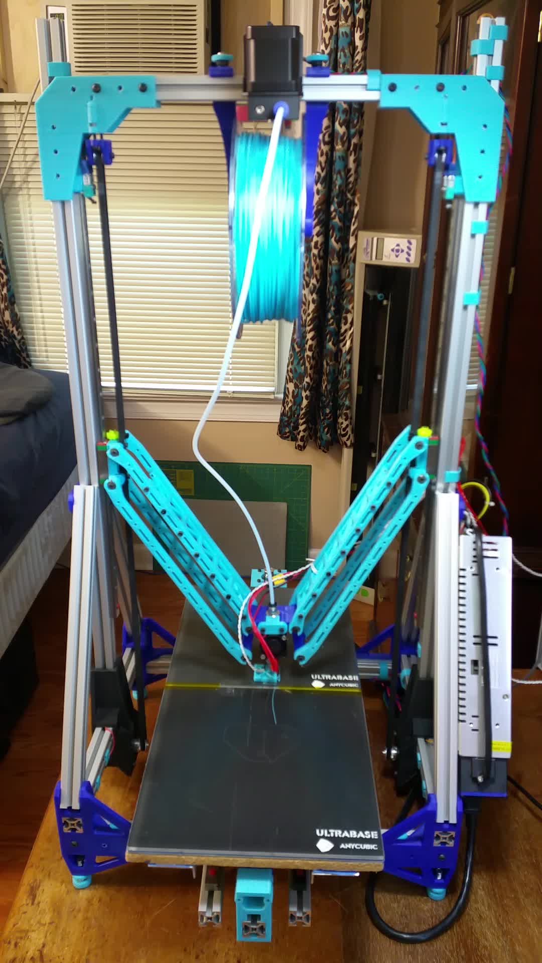 3D Printer, 3D Printing, Deltesian, Delteisan - Double Bed Lives Again GIFs