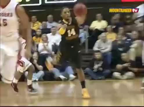 Dunk, Kevin Jones, WVU, KJ-WVU-Rutgers-Dunk GIFs