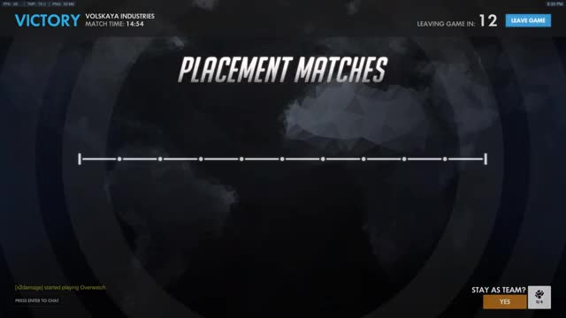 Watch and share Placements GIFs and Overwatch GIFs by drusse on Gfycat