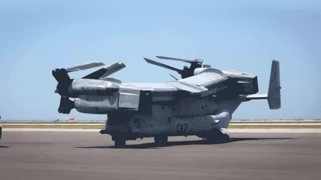 Watch Osprey Unfolding (reddit) GIF on Gfycat. Discover more EngineeringPorn, aviation GIFs on Gfycat