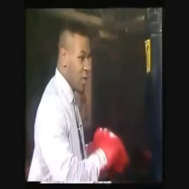 Watch Mike Tyson heavy bag GIF on Gfycat. Discover more 1985, 1997, Iron, Speed, Technic, bag, heavy, mike, power, punching, tyson GIFs on Gfycat