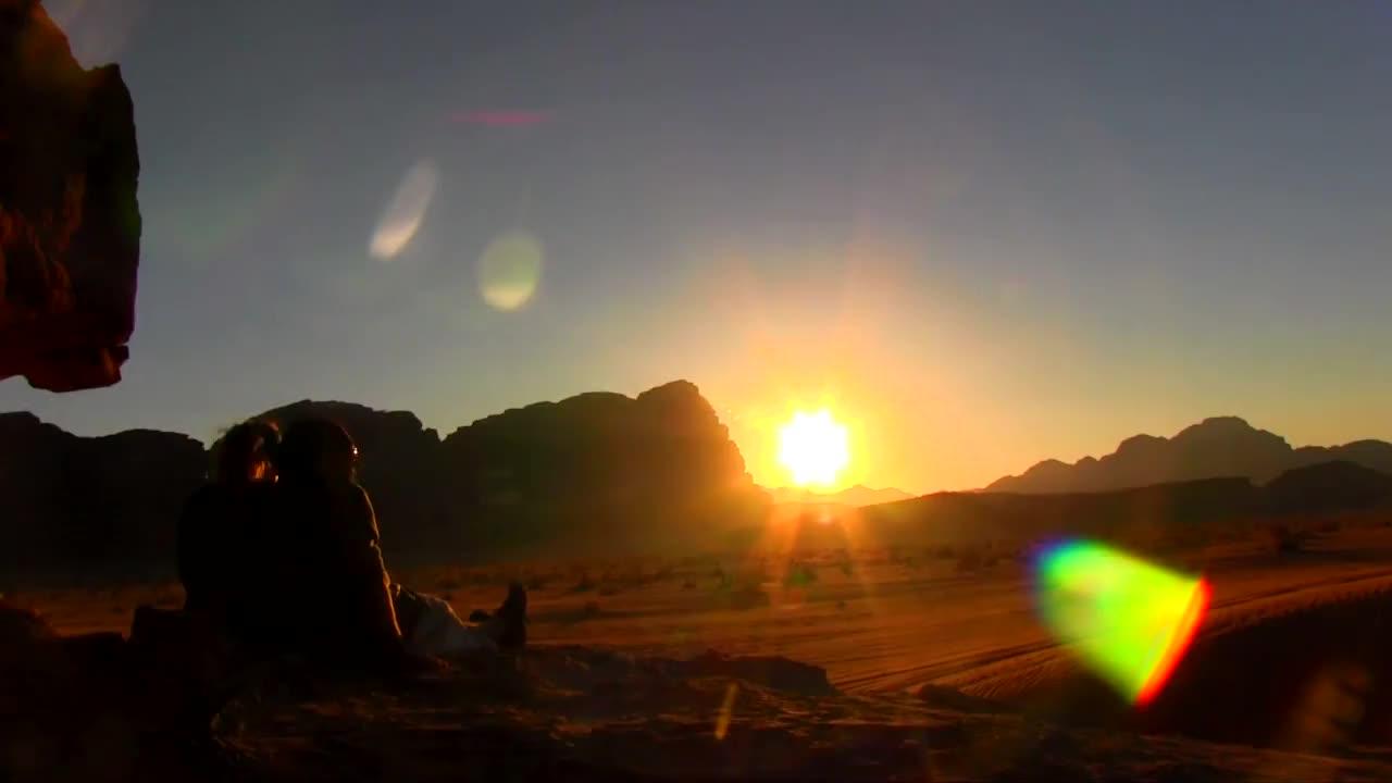 4x4, Adventure, Desert, Jordan, explore, sunset, travel, 4x4 Sunset Adventure in Wadi Rum Jordan GIFs