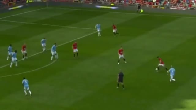 Watch Most Dramatic Manchester Derby Man UTD v Man City 4-3 English commentary HD GIF on Gfycat. Discover more related GIFs on Gfycat