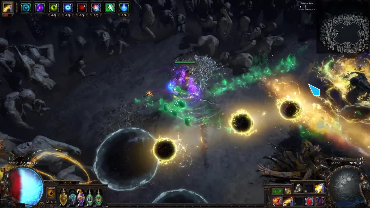 path of exile divine ire
