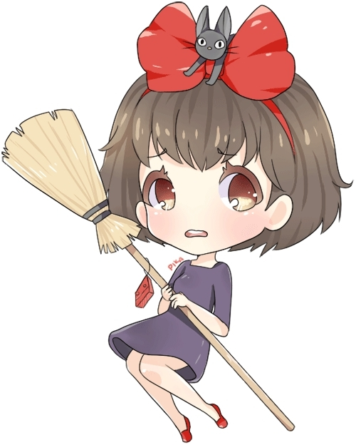animation, drawing: full, fanart, kiki's delivery service, non kpop,  GIFs