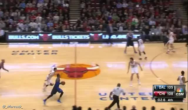 Watch Kirk Hinrich fouls Monta Ellis behind the 3 pt line with 1.2 left in the game. Ellis makes all 3 free throws. Game now in OT. (reddit) GIF by MarcusD (@-marcusd-) on Gfycat. Discover more nba GIFs on Gfycat
