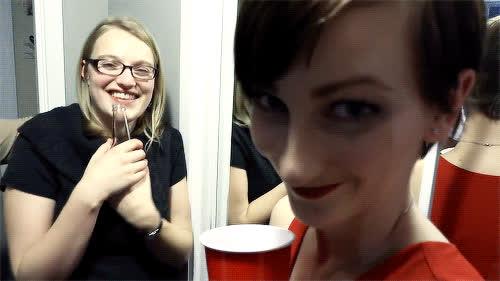 ApprenticeEh, OK, Samantha Fall, brow, eye brow, wiggle, Brow GIFs