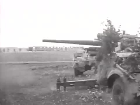CombatFootage, DestroyedTanks, Anti-tank guns engage Russian armor in the distance at Donetsk [gfy] (reddit) GIFs