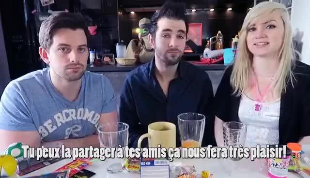 Watch and share CHALLENGE! AVALER UN OEUF CRU - BLURP GIFs on Gfycat