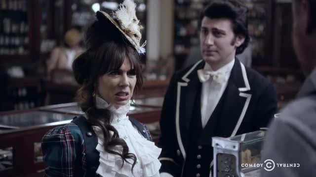 Watch and share Natasha Leggero GIFs and Another Period GIFs by Comedy Central on Gfycat