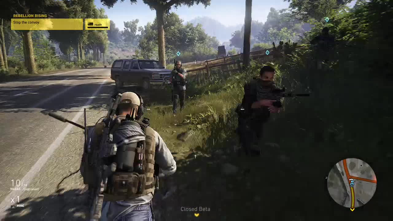 GhostRecon, How To Stop a Convoy GIFs