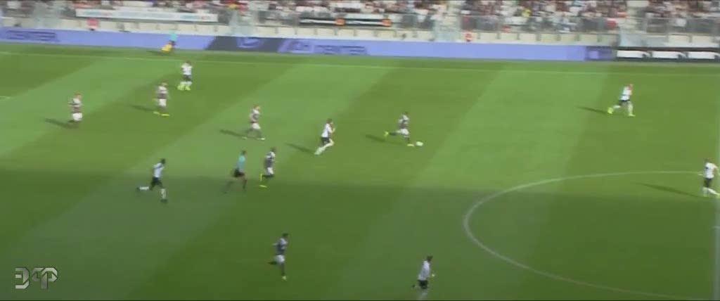 soccergifs, François Kamano sombrero skill GIFs