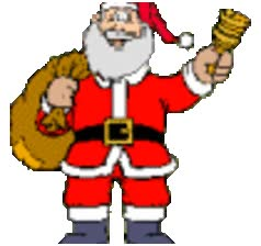 Watch and share Santa animated stickers on Gfycat