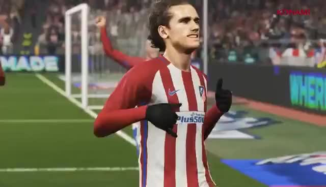 Watch and share PES 2018 E3 Trailer GIFs on Gfycat
