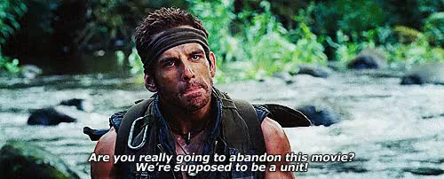 Watch and share Robert Downey Jr Rdj Ben Stiller Tropic Thunder Gifs:tropic GIFs on Gfycat