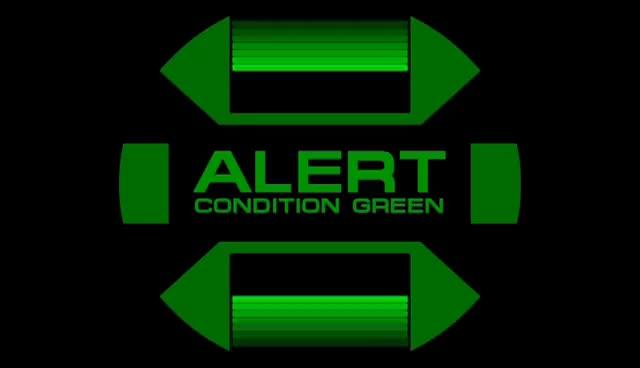Watch and share Star Trek Green Alert Screen GIFs on Gfycat