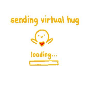 Watch and share Cute Sending Virtual Hug GIFs on Gfycat