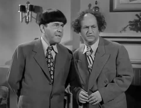 Watch The Three Stooges 132 Scrambled Brains 1951 Shemp, Larry, Moe GIF on Gfycat. Discover more larry fine, moe howard GIFs on Gfycat