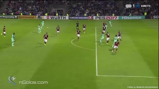 Watch and share (www.nGolos.com) Latvia 0-1 Portugal - Cristiano Ronaldo 41' GIFs on Gfycat