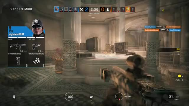 Just imagine it's 4-4 overtime and this happens... Rainbow6