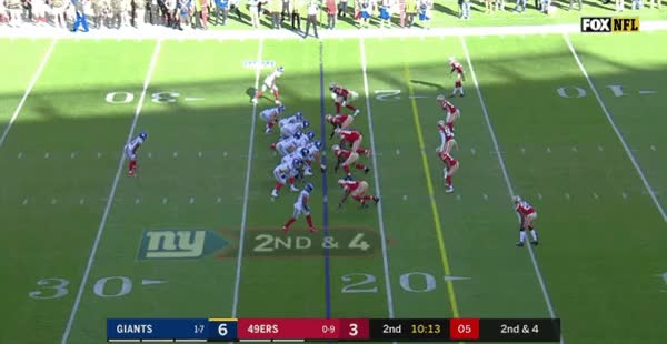 Watch and share Eli Sack Fumble GIFs on Gfycat