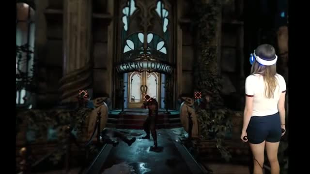 Watch and share Wiggling With Batman [PSVR] GIFs on Gfycat