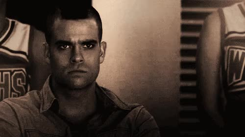 Watch and share Mark Salling GIFs on Gfycat