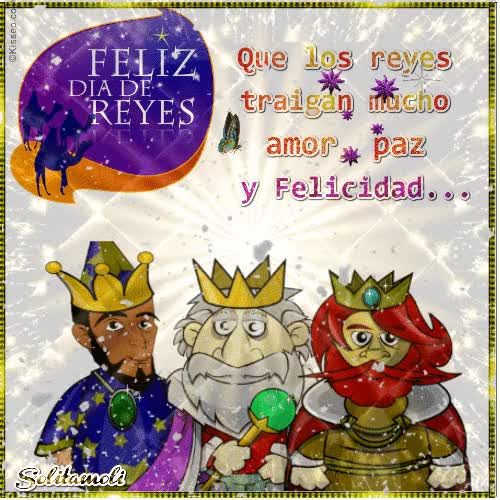 Watch and share ¡¡ Feliz Día De Los Reyes Magos !! GIFs on Gfycat