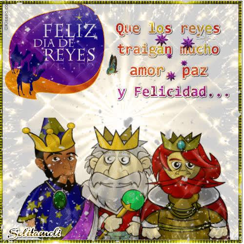 Feliz Día De Los Reyes Magos Gif Rechercher Faire Et Partager