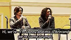 Watch Danny + Arin GIF on Gfycat. Discover more (rolls away for the rest of the day), ableist language cw, arin hanson, dan avidan, danplus, game grumps, gif warning, grumpsedit, shelby makes gifs, so i hope you like the bits i chose kids, two anons requested this one GIFs on Gfycat