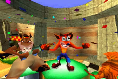 Watch gaming oc crash bandicoot playstation crash team racing ctr GIF on Gfycat. Discover more related GIFs on Gfycat