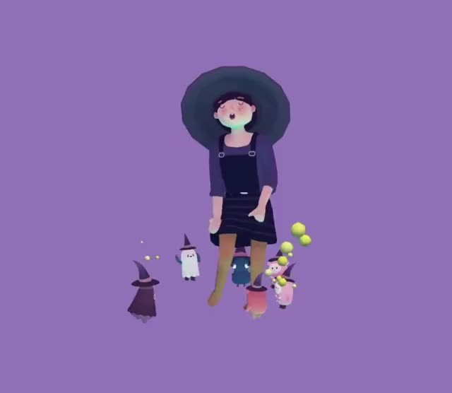 Watch and share Halloween GIFs and Ooblets GIFs by perplamps on Gfycat