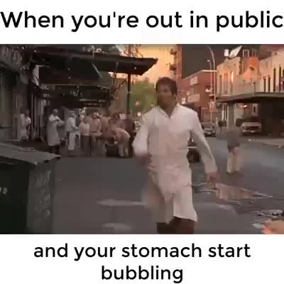 When your stomach starts bubbling🤣🤣🤣