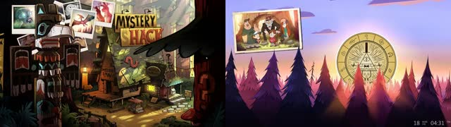 Watch Rainmeter Falls (Gravity Falls spoilers) GIF on Gfycat. Discover more related GIFs on Gfycat