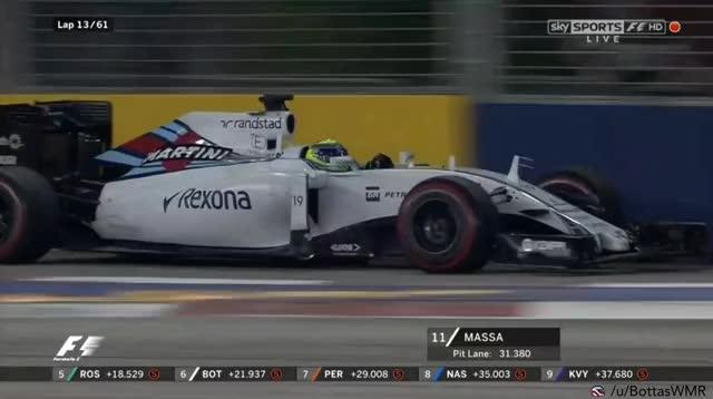 Watch Hulkenberg hits Massa (reddit) GIF on Gfycat. Discover more formula1 GIFs on Gfycat