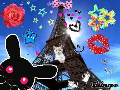 Watch and share Minou La Tour Eiffel GIFs on Gfycat